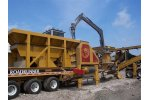Model 30 x 42 - Portable Jaw Crusher with Hydraulic Breaker