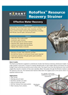 RotoFlex - Resource Recovery Strainer Brochure