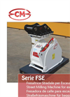 CM - Model FSE Series - Street Milling Machine Brochure