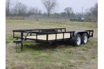Standard Duty Tandem Axles Trailer