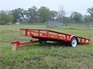 Mini Tilt Single Axles Trailer