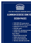 Ateco - Aluminium Geodesic Dome Roof General Design Phase Information Datasheet