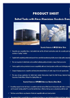 Bolted Tanks with Ateco Aluminium Geodesic Dome Roof Datasheet