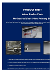 Ateco - Pusher Plate Mechanical Shoe Plate Primary Seal Datasheet