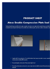 Ateco - Double Compression Plate Seal System Datasheet