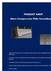 Ateco - Compression Plate Secondary Seal Datasheet
