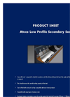 Ateco - Low Profile Secondary Seal Datasheet