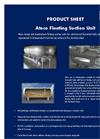 Ateco - Floating Suction Unit Datasheet