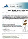 NECi Low Range Water Nitrate Test Kit Instructions