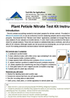NECi Plant Petiole Nitrate Test Kit Instructions