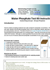 NECi Standard Range Water Phosphate Test Kit Instructions