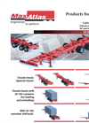 Max Atlas - Model CC3240-3S-00 - Heavy Duty Three Axles Spring Ride Container Chassis Trailers Brochure