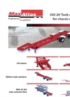 Max Atlas - Model CCS32-3A-00 - Drop Frame Chassis Carries Trailers Brochure