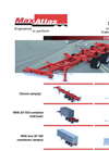 Max Atlas - Model D113-1-00 - Single Axle Spring Ride Converter Dolly Trailers Brochure