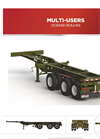 Max Atlas - Model CC3240-3CSJ-00 - Heavy Duty Three Axles Spring Ride Container Chassis Trailers Brochure
