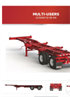 Max Atlas - Model CC3240-12-2S-00 - Heavy Duty Three Axles Spring Ride Container Chassis Trailers Brochure