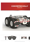 Max Atlas - Model D213-2-01 - Tandem-Axle Spring Rid Dolly Trailers Brochure