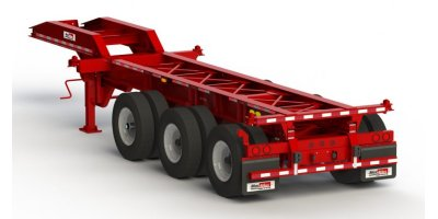 Model CC29-3S-00 - Three Axles Slider Chassis Trailers