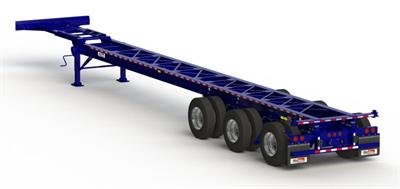 Max Atlas - Model CCTBL53-3S-00 - Axles Spring Ride Slider Suspension Chassis LCV Trailers