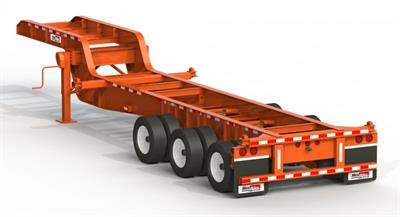 Max Atlas - Model CCS32-3A-00 - Drop Frame Chassis Carries Trailers