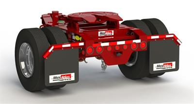 Max Atlas - Model D113-1-00 - Single Axle Spring Ride Converter Dolly Trailers