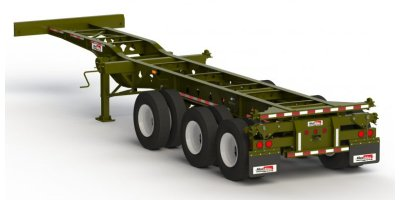 Max Atlas - Model CC3240-3CSJ-00 - Heavy Duty Three Axles Spring Ride Container Chassis Trailers