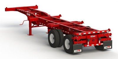 Max Atlas - Model CC3240-12-2S-00 - Heavy Duty Three Axles Spring Ride Container Chassis Trailers