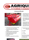Bucket Brush Specification Sheets