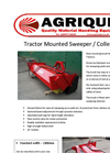 Tractor Sweeper / Collector Specification Sheets