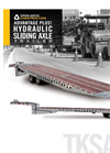 Model SA - Hydraulic Sliding Axle Trailer Brochure