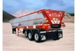 Model OLB - Fifth Wheel Live Bottom  Trailers