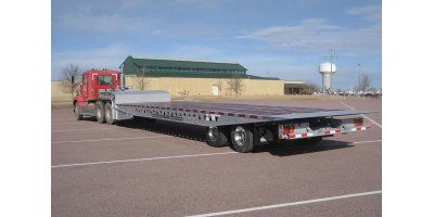 Model SA - Hydraulic Sliding Axle Trailer
