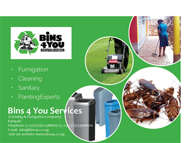 Bins 4 You , Cleaning & Fumigation Services