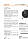 Coaxial Cable Water Level Meter - Model 102 Data Sheets