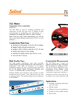 Solinst - Model 107 - TLC Meter (Temperature, Level, Conductivity) - Datasheet