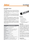 Levelogger Junior - Model 3001 - Water Level Dataloggers - Datasheet
