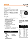 Disposable In-Line Filters - Model 860 Data Sheets (PDF 141 KB)