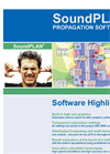 SoundPLAN Propagation Software® - Software Highlights Brochure (PDF 1.09 MB)