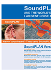 SoundPLAN Propagation Software - Noise & Air Pollution Largest Noise - Brochure