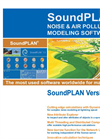 SoundPLAN Noise & Air Pollution Modelling Software Version 7.0 Booklet - Brochure