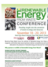 Sponsor or Exhibit at Renewable Energy from Waste 2013