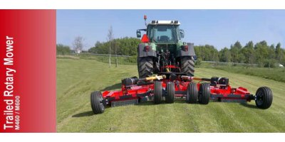 Twose - Model M460/M600 - Trailed Rotary Mowers