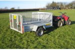CLH - Mesh Drop Side Livestock Trailer