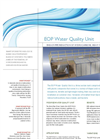 AbTech - Model EOP - Water Quality Unit - Datasheet