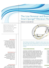 Line Skimmer and Booms with Smart Sponge Filtration Media - Datasheet