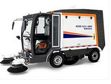 Model MN-S2000 - Electric Road Sweeper