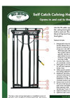 Self-Catch Calving Headgate Brochure
