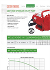 Red Lion - Cast Iron Sprinkler Utility Pump Brochure
