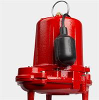 Red Lion - Heavy-Duty Cast Iron Effluent Pump