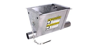 Grower Select - Model HS532 - SG Boot Hopper Weldment